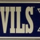 Blue Devils Blvd Duke University Embossed Metal Novelty Street Sign