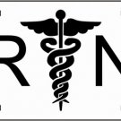 RN Registered Nurse Metal Novelty License Plate Tag Sign