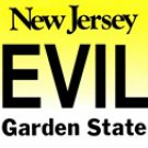DEVILS New Jersey Novelty State Background Metal License Plate Tag Sign