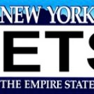 JETS New York Novelty State Background Metal License Plate Tag Sign