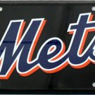 New York Mets MLB Embossed  Metal Novelty License Plate Tag Sign