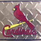 St. Louis Cardinals MLB Embossed Metal Novelty License Plate Tag Sign