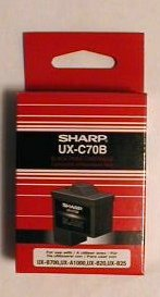 Genuine Sharp UX-C70B Ink Cartridge - New