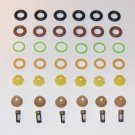 BMW Fuel Injector Service Kit O-rings Pintle caps microfilters