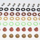 FORD MUSTANG 84-95 5.0 V8 Injector Seal Kit Oring kit + pintle caps