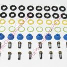 Ford 4.6 & 5.4 Fuel Injector Service kit O'rings Pintle Caps Filter Baskets F-150 F-250 Expedition
