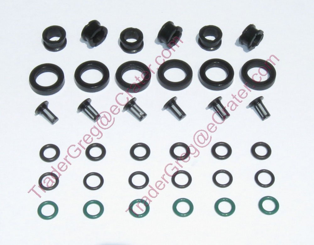 Honda Acura V6 Fuel Injector O�rings Filters Grommets Keihin injectors Accord Civic Prelude