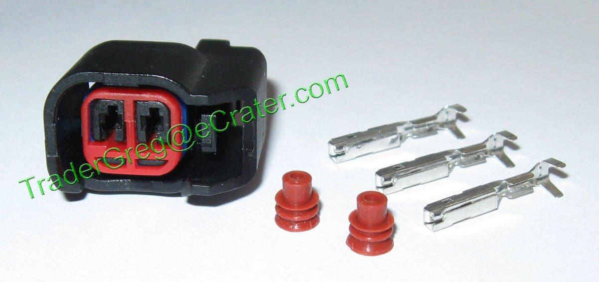 Set Of 8 Ev6 Ev14 Fuel Injector Connectors Bosch Chevy Ls2