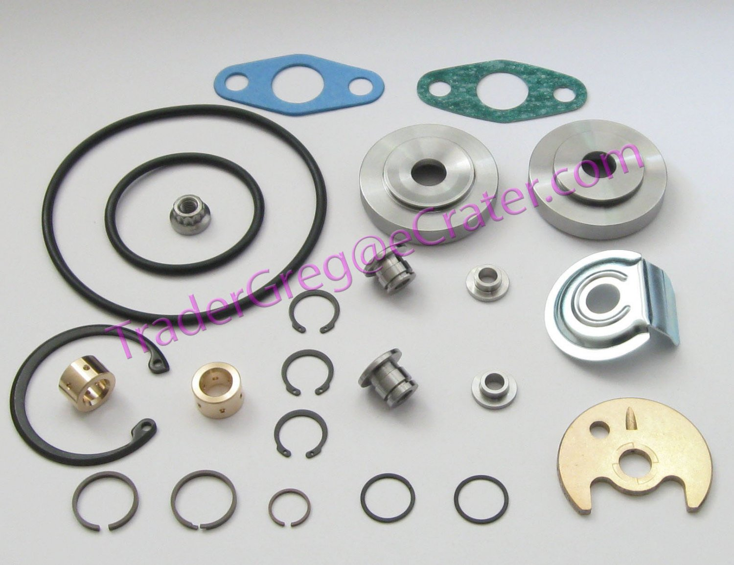 Mitsubishi Turbo TD04 TE04H TD04-H Turbocharger Rebuild Kit