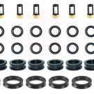 Fuel Injector Service Repair Kit O-Rings Grommets Filters For Toyota Vehicles 3.0 3.4
