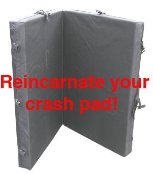 Replacement Foam 4 Crash Pad, Bouldering Mat