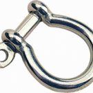 "5/16"" (8mm) bow shackle stainless steel"