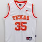 Kevin Durant 35 University Of Texas Longhorns White Stitched Jersey Size S-2XL