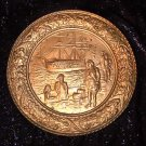 """Brass Wall Plate, Large 14"""""""