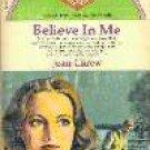 Carew, Jean - Believe in Me, Vintage Paperback