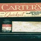 Carters Ink Antique Press Set, circa 1940
