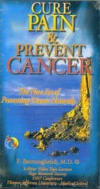 Cure Pain & Prevent Cancer VHS Tape