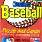 Donruss Unopened Baseball Cards.