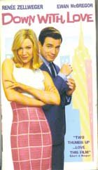 Down With Love, VHS Movie 2003