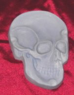Gothic Skull Plaque / Ashtray