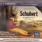 Schubert, Franz (BBC Scottish Orchestra). Schubert, Sympony No. 9 in C