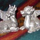 Silver Baby Dragon Couple