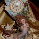 Mermaid and Sea Scene Clock