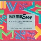 Math Made Easy: Building Addition Skills (VHS)