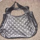 Ladies Large Gray/Silver Vintage Purse