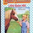 Karens Pony by Ann M Martin (Babysitters Little Sisters #60)