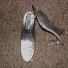 Clear Acrylic Ladies High Heels by Touch Ups, Size 10M