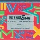 Math Made Easy: Building Multiplication Skills, VT107A (VHS)