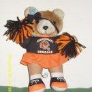 Cincinnati Bengal Collectible Stuffed Bear