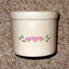 Roseville (R.R.P.) Pottery Crock, 1pt. Low