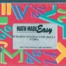 Math Made Easy: Building Subtraction Skills VT106A (VHS)