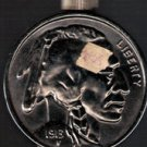 Avon 1913 Buffalo Nickel After Shave Decanter, circa 1971