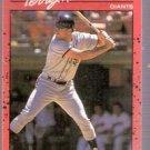1990 Donruss Baseball Card 602, Terry Kennedy, New York Giants