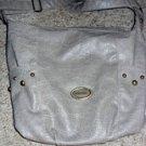 Versace Gray Snake Skin Textured Shoulder Bag (Vintage Versace)