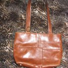 Vintage Patton Leather (vinyl) Brown Purse