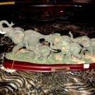 Wildlife CollectionLimited  Elephant Herd Sculpture