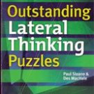 Outstanding Lateral Thinking Puzzles by Paul Sloane