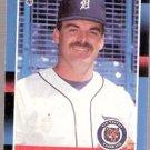 1988 Donruss Baseball Card 91, Walt Terrell, Detroit Tigers
