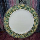 Yellow Vines & Fowers Dinner Plate by Allied Designs