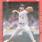 1990 Donruss Card 479, Storm Davis (Oakland Athletics)