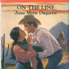 On The Line by Anne Marie Duquette (Paperback)
