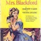 The Scandalous Mrs Blackford by Harnett T Kane, 1951