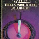 Three at Wolfe's Door by Rex Stout (Nero Wolfe Mystery) 1984