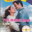 The Maine Man by Ellen James (Harlequin Romance 822)