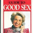 Dr Ruth's Guide to Good Sex by Dr Ruth Westheimer