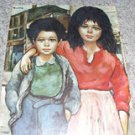 Brother and Sister Art Lithograph by Roth (D.A.C. P-420)